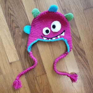 Other - Toddler | Crochet Silly Monster Hat, Halloween